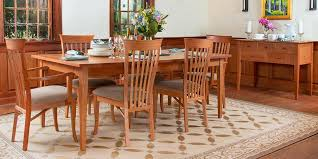 shaker dining room chairs for well shaker dining room furniture