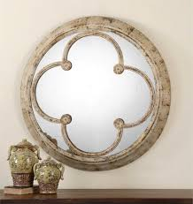 Classy Mirrors by Lichfield Hand Forged Metal Round Mirror 36