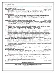Resume Executive Summary Examples How To Write A Summary For A Resume Examples Summary Resume