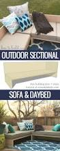 Outdoor Wood Sectional Furniture Plans by Best 25 Outdoor Sectional Ideas On Pinterest Sectional Patio