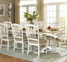 Distressed Pedestal Dining Table Distressed Pedestal Dining Table Best Tables Ideas On White