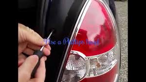 2010 hyundai elantra tail light assembly changing the back lights of my hyundai accent 2007 youtube