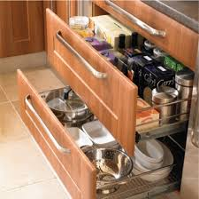 Delectable  Kitchen Cabinet Drawer Guides Decorating Design Of - Draw kitchen cabinets