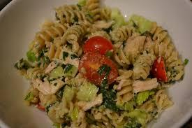 pasta salad with mayo healthyeatsgirl walnut pesto tuna pasta salad perfect labor day