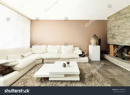 interior beautiful apartment luxurious living room stock photo