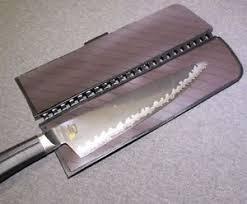 kershaw kitchen knives new kershaw kai magnetic blade guard large 10 x2 5 max bg l shun
