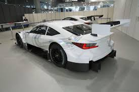 lexus rc f gt500 lexus to develop rc f for gt500 and gt3 classes drive safe and fast