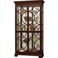 curio cabinet with light howard miller morriston curio cabinet with light in chocolate finish