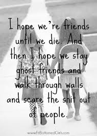 Cute Friend Memes - friendship quotes as part of bff week at fit bottomed girls