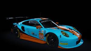 gulf porsche 911 porsche 911 rsr 2017 gulf racing racedepartment