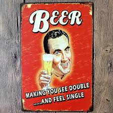 Home Decor Signs And Plaques Vintage Metal Tin Sign Poster Plaque Bar Pub Club Wall Tavern
