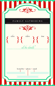 family gathering invitation wording agenda templates reference