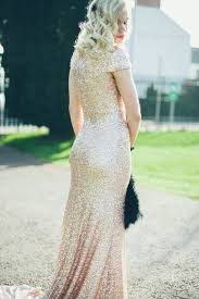 sequined wedding dress 10 gorgeous sequin glitter wedding gowns