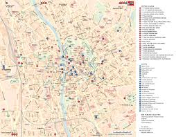 graz hotels and sightseeings map