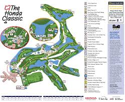 Map Of The National Mall The Honda Classic Spectator Info Course Map
