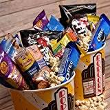 Movie Themed Gift Basket Amazon Com Movie Night Gift Basket Grocery U0026 Gourmet Food