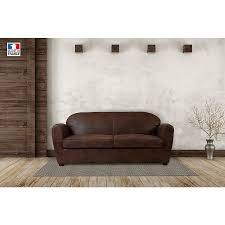 canapé marron vieilli canapé marron vieilli maison et loisirs e leclerc