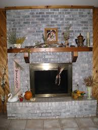 fireplace decorating the crafty garden