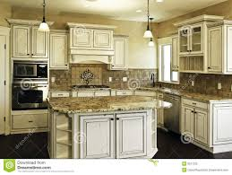 white kitchen with distressed cabinets large new modern white kitchen from 61