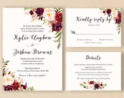 wedding invite etsy wedding invite vertabox