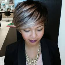 is a pixie haircut cut on the diagonal 40 glamorous ash blonde and silver ombre hairstyles ombre
