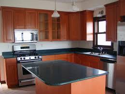 Rustic Kitchen Countertops - kitchen simple most popular granite countertop edges design
