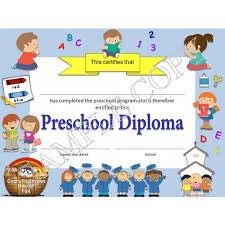 preschool diploma religious christian preschool diplomas graduation invitations