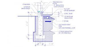 a net zero home in massachusetts greenbuildingadvisor com bado foundation insulation detail