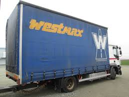 iveco stralis at 190 s35 9 4x2 platform with tarpaulin automarket