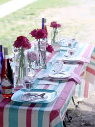 Dining Room Table Setting Ideas 3 Stylish Summer Table Setting Ideas Hgtv