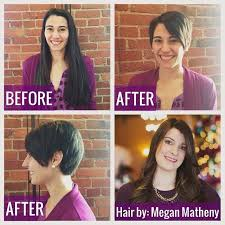 haircuts after donating hair 17 best posh haircut portfolio images on pinterest hairstyles