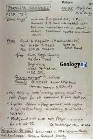 help me write geology papers