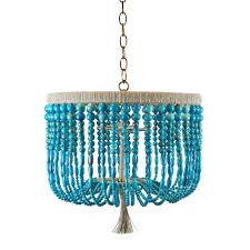 turquoise beaded chandelier 18 malibu beaded chandelier turquoise swirl scenario home