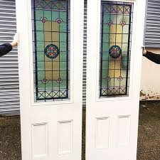 stained glass interior door 8 best victorian stained glass doors images on pinterest front