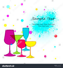 cocktail party invitation stock vector 114030550 shutterstock