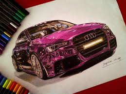 cars drawings drawings of ultra shiny automobiles scene360