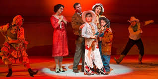 theatre review a story the musical is a great big