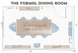 Dining Room Layout | dining room guide how to maximize your layout