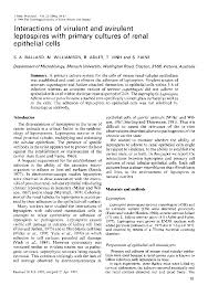 microbiology society journals interactions of virulent and