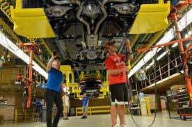 ford mustang assembly plant tour ford cancels mexico plant invests in u s hybrid f 150 mustang