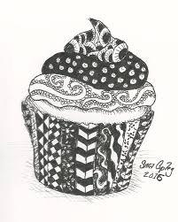 cupcake drawing by sara copley