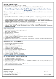 Resume Engineering Manager Resume Of Mandar Yadav