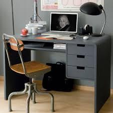 bureau gris laqué bureau gris cool elgant bureau bois design hart gaston secrtaire