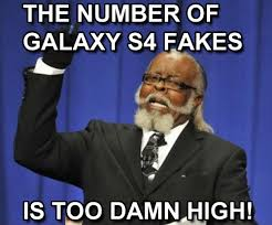 Galaxy Phone Meme - mobilized tech how to identify a fake samsung galaxy phone