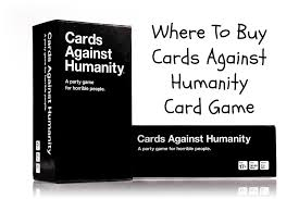 cards against humanity where to buy where you can buy the cards against humanity card shopping