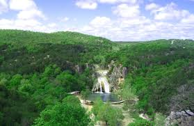 Oklahoma forest images Turner falls zipline is an epic adventure for all ages in davis png