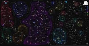 Map Of Universe Mapping The Digital Agency Universe Of The Uk A View From Space