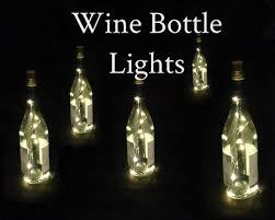 Wine Bottles With Lights Fairy Lights For Wine Bottles Warm White Led U0027s On Copper Or