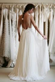 wedding dress open back simple wedding dress with open back sang maestro