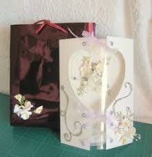 make a special card box in which to give your creations